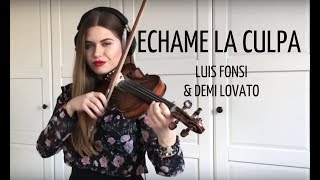 Chame La Culpa Luis Fonsi, Demi Lovato violin cover by Ada Furmaniak Alex Medina.mp3