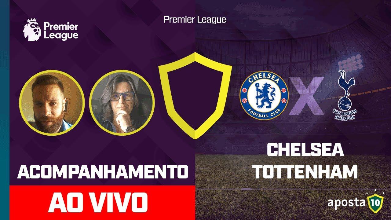 Chelsea X Tottenham Ao Vivo Premier League Acompanhamento Com Palpites Youtube
