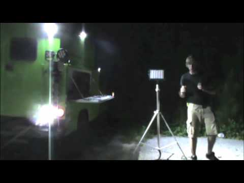 HiViz FireTech Utility Market Scene Light