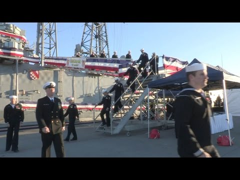 USS Ingraham Decommissioned after 25 Years of Service