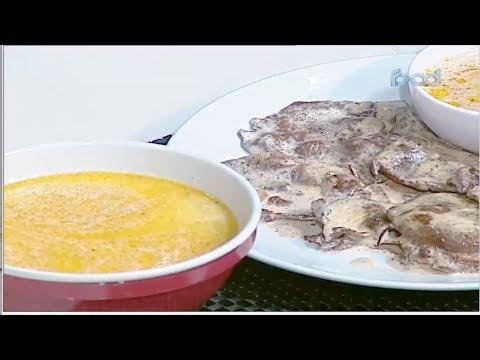 بيكاتا بالمشروم -صدور دجاج بحشوه السبانخ  | حلقه كاملة | الشيف #نونا #الغالي_يرخصلك