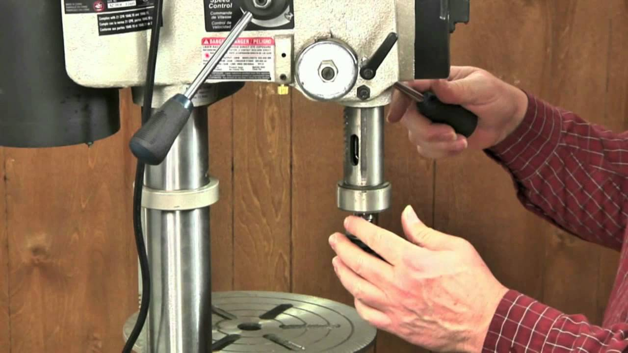 Tune Up Your Drill Press - YouTube