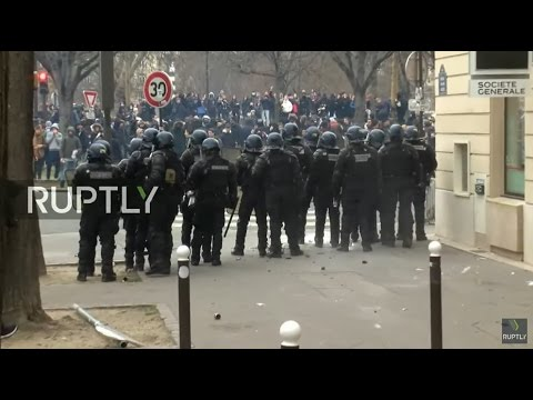LIVE: Protests against police violence continue in Paris