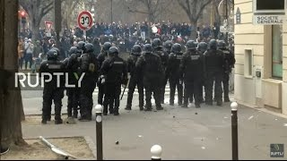 LIVE  Protests against police violence continue in Paris