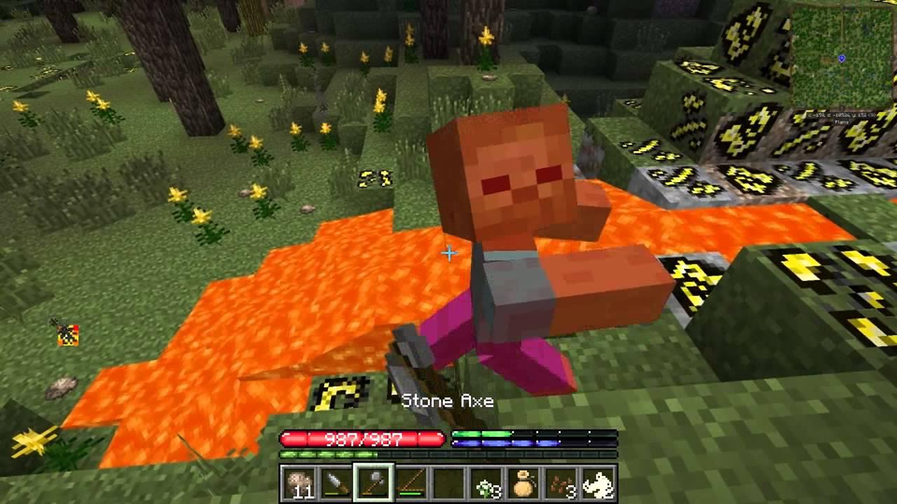 Minecraft TerraFirmaCraft S2 #1: Hungry Man