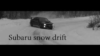 Subaru snow drift compilation