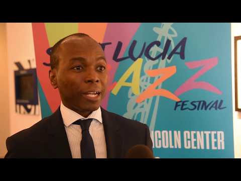 Dominic Fedee, minister of tourism, St Lucia