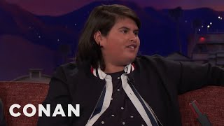 Julian Dennison Wasn't A Fan Of Ryan Reynolds  - CONAN on TBS