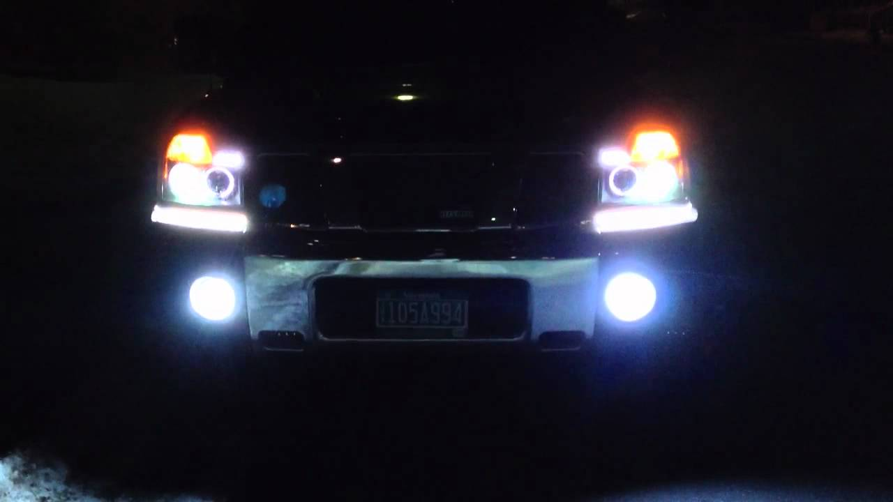 Nissan Titan Led And Aftermarket Headlights Youtube