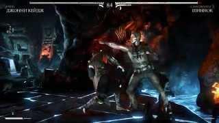 Первый запуск Mortal Kombat X!!! Ну ооочень круто (60 fps)