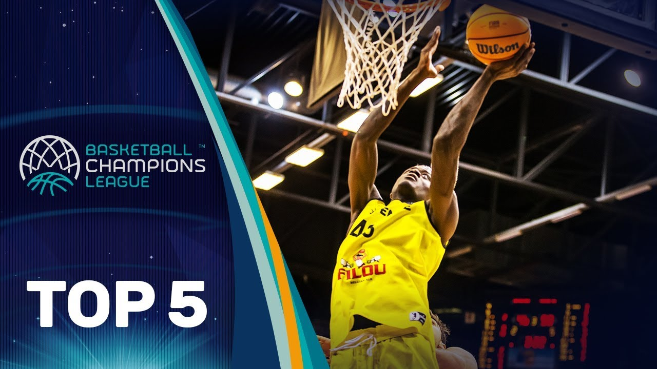 Top 5 Plays | Tuesday - Gameday 13 | Basketball Champions League 2019