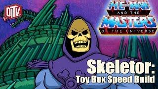 Toy Box Speed Build: Skeletor Animated Block Art