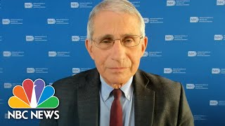 Fauci Speaks Out Over U.K.'s