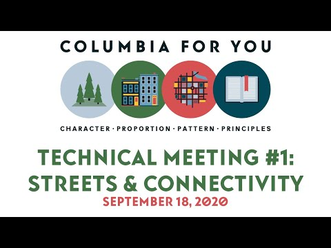 Planapalooza Technical Meeting 1: Streets & Connectivity