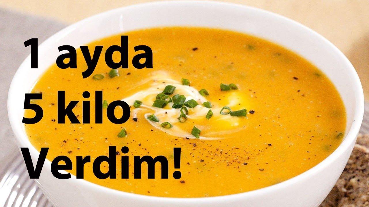 Zayıflama Çorbası 1 ayda 5 kilo vermek için muhteşem diyet çorbası nasıl yapılır?