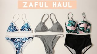Spring Break Bikini Try-on Haul | Zaful Review