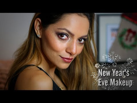GRWM: NEW YEARS EVE MAKEUP