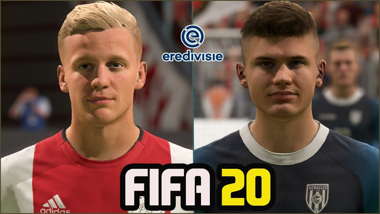 FIFA 20 | ALL EREDIVISIE PLAYERS REAL FACES