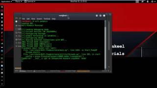 Kali Linux 2016 2 ui Sahte WiFi AP Oluşturma