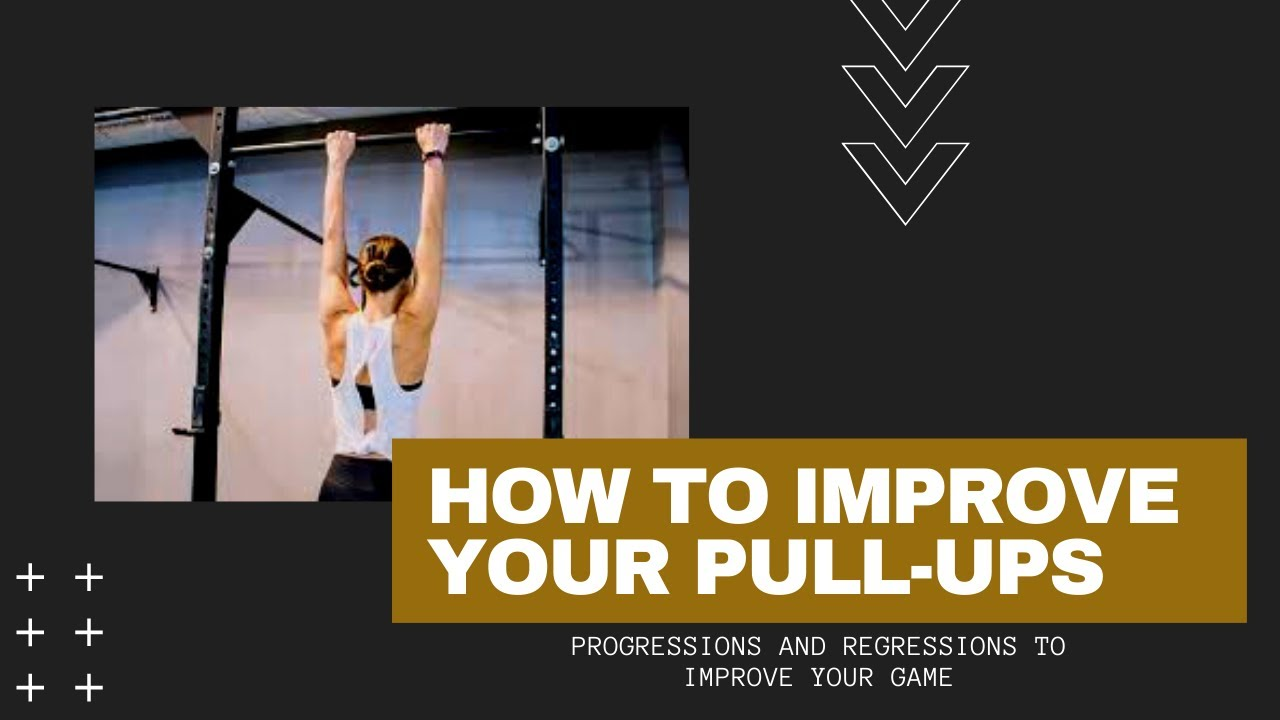 How to improve your Pull-ups (from home or at the gym)!