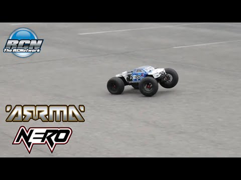 Arrma Nero 6S BLX - Running on Asphalt - Locked Diffs!