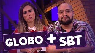E se Globo e SBT fossem um só canal? | Tiago Abravanel | Tatá Werneck | Lady Night | Humor Multishow