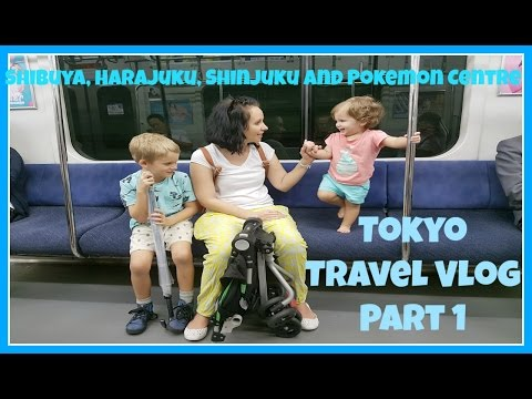 Tokyo Japan Travel Vlog Part 1: Harajuku, Shinjuku, Shibuya and The Pokemon Centre