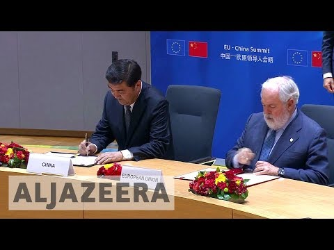 EU and China agree on joint climate change action