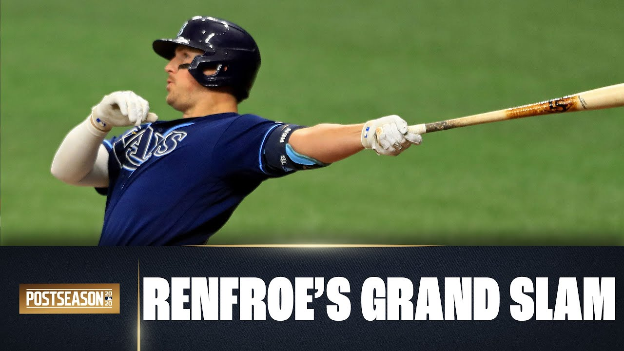 Rays PILE IT ON Blue Jays with Hunter Renfroe's huge grand slam in Wild Card round Game 2!