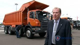 Scania на выставке Комтранс 2011