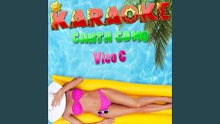 Bomba para Afincar (Popularizado por Vico C) (Karaoke Version)