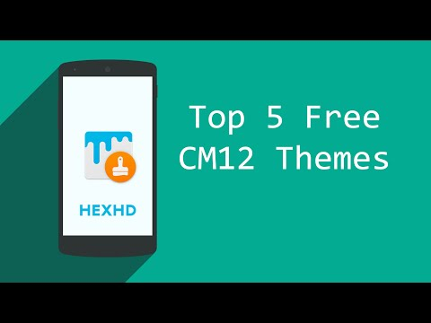 Top 5 Free Cm12/12.1/13 Themes November 2015