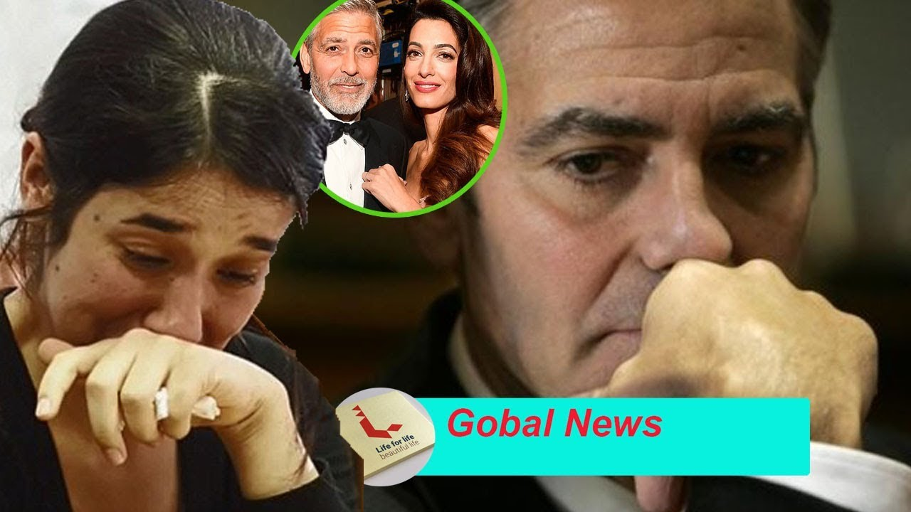 George Clooney divorces wife Amal pregnant after collision ...