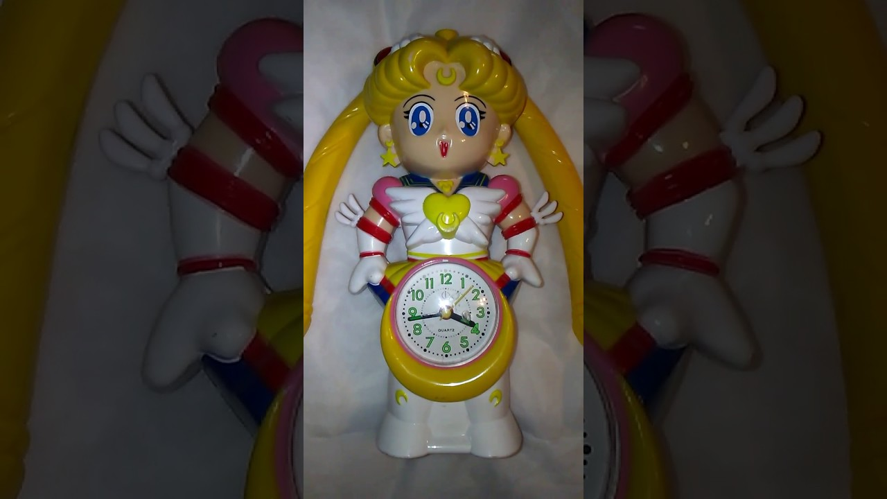 Sailor Moon Alarm Clock You