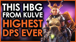 MHWorld | Glutton The Highest DPS HBG Ever