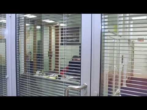 Офисные и стеклянные перегородки Алютех