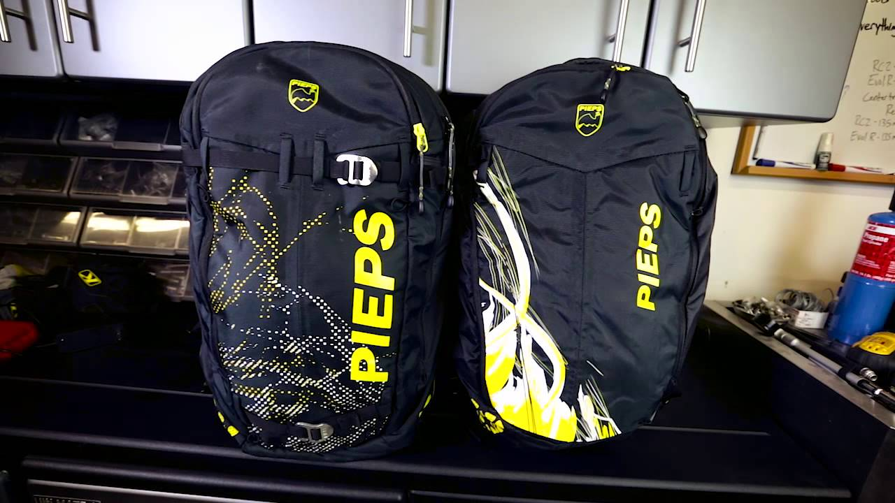 Overview Of Pieps Jetforce Avalanche Airbag Pack With Dan