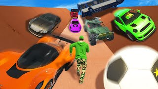 MOST DANGEROUS HUMAN AVALANCHE EVER! (GTA 5 Funny Moments)