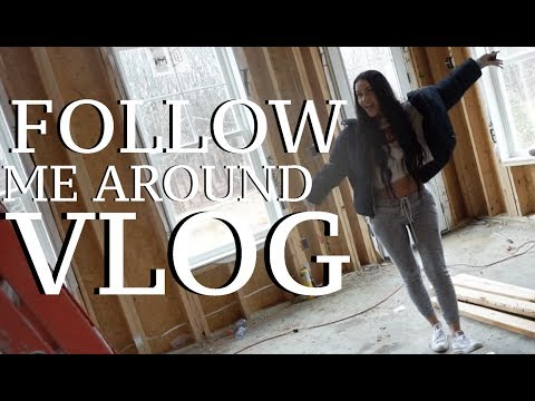 FOLLOW ME AROUND: NEW HOUSE🏡 WEDDING FLOWERS & CAR RIDES