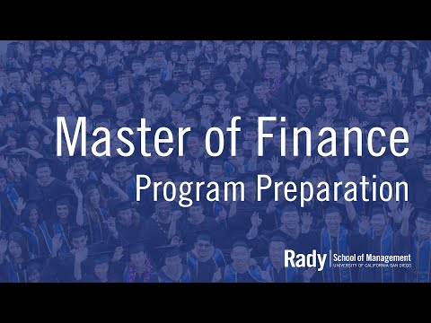 Advice for Master of Finance Students