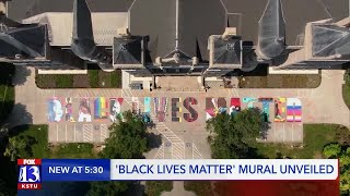 'Black Lives Matter' mural unveiled in downtown SLC