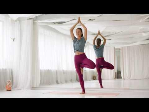 beginners daily yoga tree pose yoga  vrikshasana