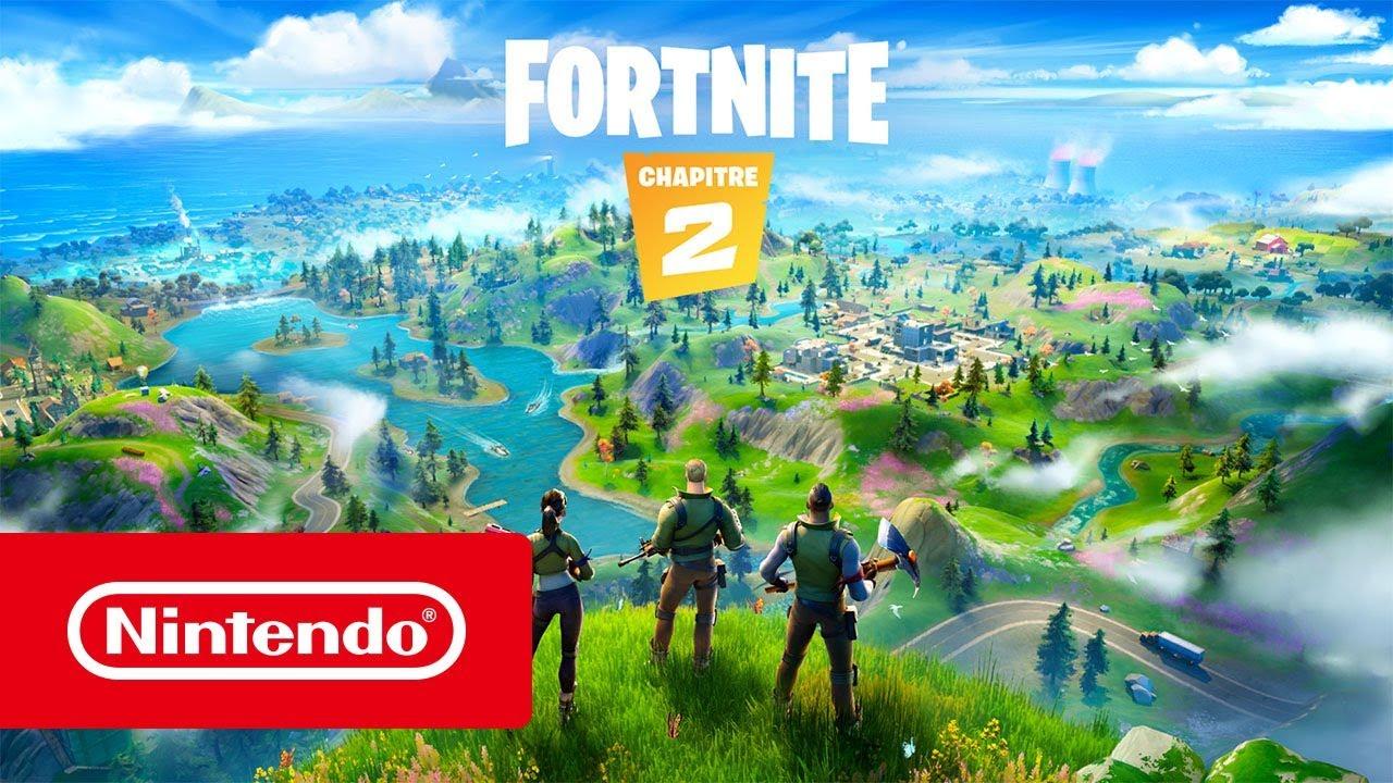 Fortnite Chapitre 2 Bande Annonce De Lancement Nintendo Switch