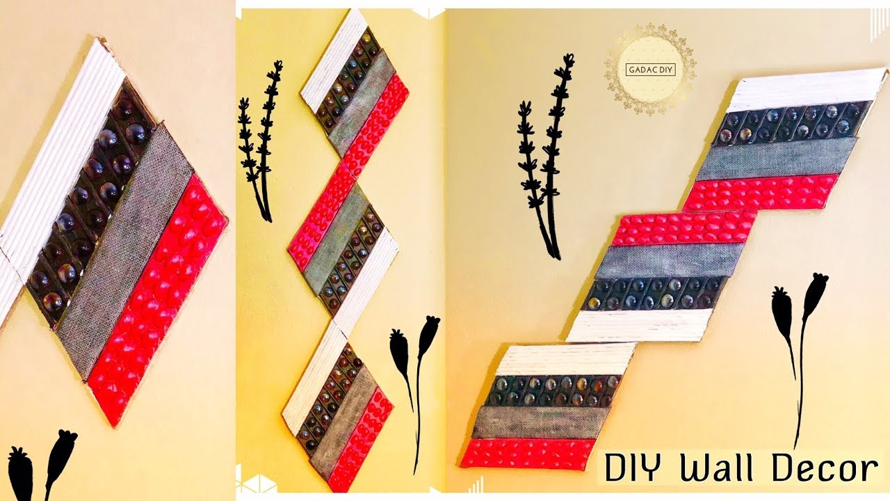Wall Hanging Ideas | DIY Unique Wall Hanging | Wall Hanging Craft ...