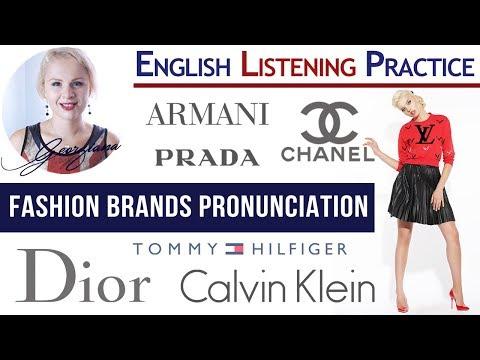 #041 Pronounce Fashion Brands like an American