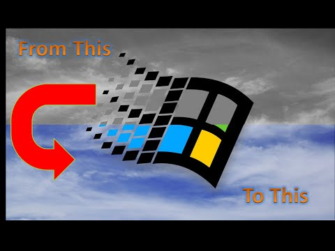 How to Get 32 bit color (256 colors) In Windows 95, 98 & ME