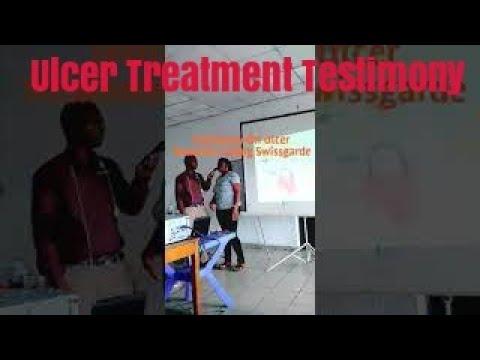 Ulcer Treatment Testimony Using Swissgarde Products