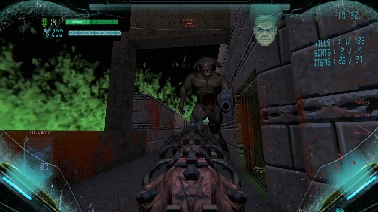 Repeat Brutal Doom 64 Project Nightmare [Secret Level 3] 1440p 60fps