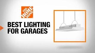 best lighting for your garage workshop