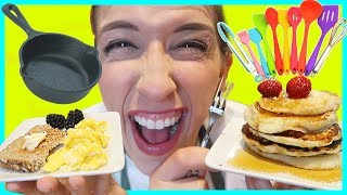 Cooking Miniature Food With Tiny Stuff!